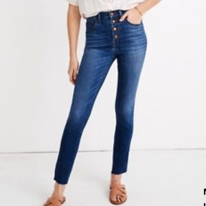 Petite High-Rise Skinny Crop Jeans